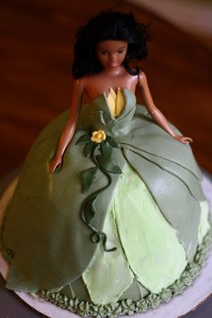 Princess Tiana Cake by bakers-cakes.