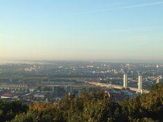 Panorama Mt St Aignan