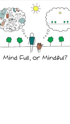 Mind Full, or Mindful?