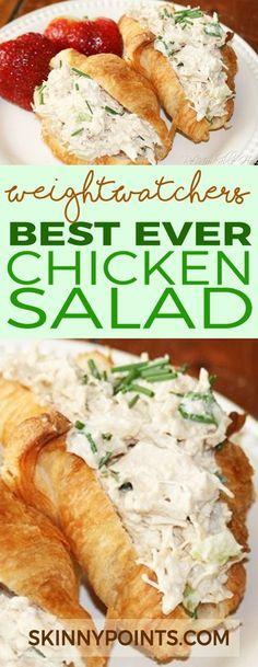 Best Ever Chicken Salad - Weight Watchers Smart Points Friendly