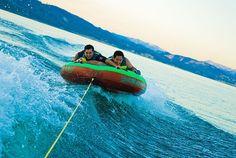 tubing! Fav summer activity