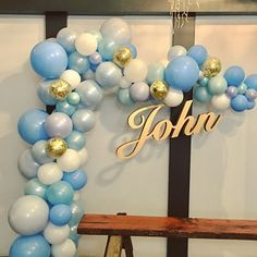 Shades of blues and gold confetti highlights for a special Baptism over the weekend #baptism #christening #celebration #weekendparty #blues #babyboy #babyblue #blueandwhite #instaparty #instafun #shadesofblue #instaevents #qualatex #balloonarch #organicballoons #balloondecoration #baptismdecor