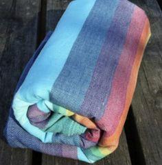 Girasol Double Rainbow Azul (sling) Porte Bébé, Portage, Echarpe, Doudous, 0fa5a63e9b9