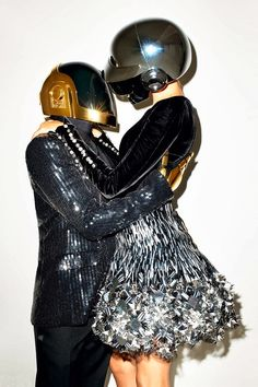 See More Photos of Gisele Bundchen + Daft Punk by Terry Richardson for WSJ