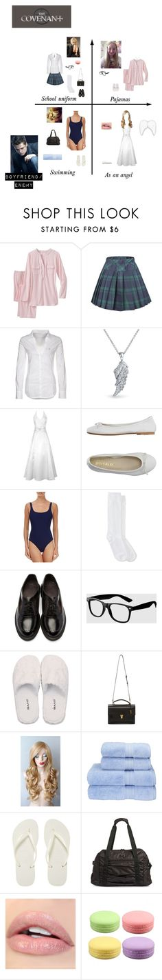 """""""Me in """"The Covenant"""""""" by nerdbucket ❤ liked on Polyvore featuring TravelSmith, GUESS, Bling Jewelry, DIENNEG, Orlebar Brown, Jefferies Socks, Dr. Martens, La Senza, GANT and Yves Saint Laurent"""