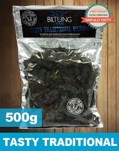 Our Sinfully Fatty Biltong is for customers who enjoy their Biltong edged with a little fat for a richer taste experience. Sinfully Fatty Biltong is only supplied in a Medium consistency and fat content is still relatively low in fat.