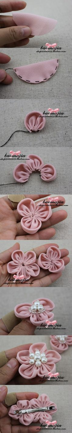 Fabric Hair Accessories ~