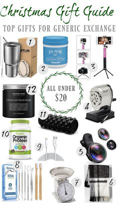 Christmas Gift Guide White Elephant Generic Ideas