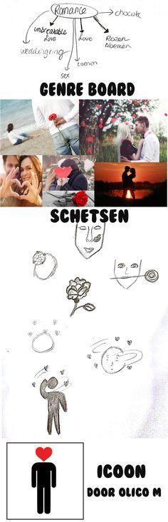 Project Visuals: opdracht 2. Icoon Romance door Olico M