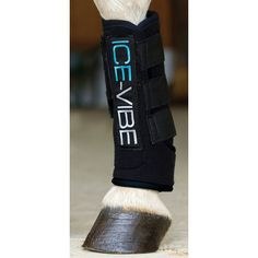 Help your horse's circulation with Ice-Vibe boots. These horse boots are great for using prior to exercise to reduce chance of injury, after a workout to repair daily wear and tear or to help treat swelling and soreness.