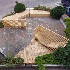Precious Tips for Outdoor Gardens - Modern Parks Furniture, Urban Furniture, Street Furniture, Garden Furniture, Concrete Furniture, Design Furniture, Furniture Ideas, Architecture Design, Garden Architecture
