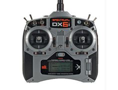The Spektrum DX6i 6 Channel Sport Radio Mode 2 TX Only is the perfect choice of radio equipment for your remote control plane or helicopter.    The 6-channel DX6i is ideal for sport modelers who want the power of a programmable transmitter but don't want to pay for a lot of extra features they'll never use. It includes software for both airplanes and helicopters as well as enough memory to store settings for up to 10 different models. The 10-model memory is especially useful if you fly…