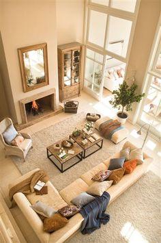 Rodeada de luz y de verde · ElMueble.com · Casas