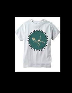 Dinosaur Bones t shirt  S 6/7 new Birthday Gift boys #Handmade #Everyday