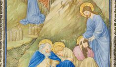 """Boy Geniuses by Timothy B. Husband   """"In the center of the book, they're struggling with their compositional arrangements, but as they progress, they become incredibly inventive.""""   Herman, Paul, and Jean de Limbourg (Franco-Netherlandish, active France, by 1399–1416). The Belles Heures of Jean de France, Duc de Berry, 1405–1408/1409. The Metropolitan Museum of Art, New York. The Cloisters Collection, 1954 (54.1.1a, b)"""
