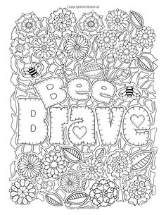 Amazon Inspirational Coloring Book For Fun And Relaxation 9781532807749 FunSpelling BeeColoring