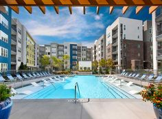 Enjoy a resort-style pool right at your apartment.