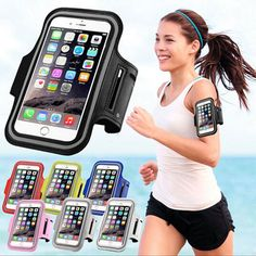 Hot Sport Running Riding Arm Band Case For Cell Phone Holder Zipper Bag Waterproof Fabrics High Quality Money Bag And To Have A Long Life. Luggage & Bags Coin Purses & Holders