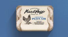 Egg Packaging, Design Packaging, Packaging Design Inspiration, Design Agency, Artisanal, Branding, Authentique, Paris, Package Design