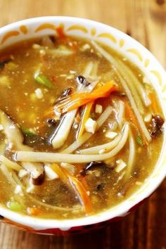 Restaurant Style Chinese Hot and Sour Soup (Vegan)