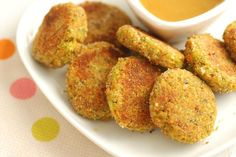 These kid-friendly Veggie Nuggets are packed with flavor and good nutrition.