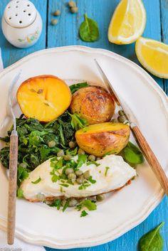 Silja, Food & Paris: Hõrk meriahven spinati ja krõbedate ahjukartuliteg...