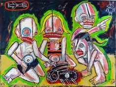 july 1, 2012    matt sesow recent paintings