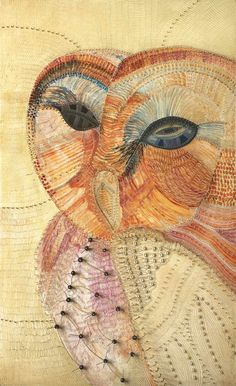 Joshua Yeldham: Wood Owl - Apple tree Bay, oil, cane and clay on carved board, 200 x 123 cm