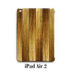 Wood Line Texture iPad Air 2 Case Cover