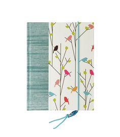 Address Book Medium Flock of Birds by WolfiesBindery on Etsy