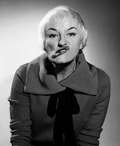 Hilarious, glorious, outrageous and looney dame of my childhood. Phyllis Diller is a comedic icon.