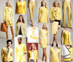 Hello Yellow! Brighten up your spring wardrobe. In Golden Rod and Lemon Drop, add a pop of color to any outfit with a yellow scarf, sweater, blouse, dress, jacket, coat or skirt. Pair back to neutrals such as black, white and navy or mix with colors for a bold bright look.