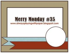 Merry Monday Challenge – A Year in Review | Stamplicious