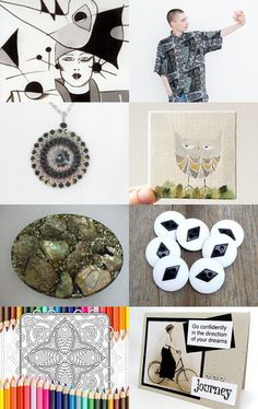 Treasuries - To Be or Not To Be? by angie on Etsy--Pinned with TreasuryPin.com