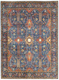 Heriz Design Rug Size: 82 x 100