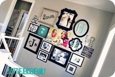 Wedding Photos Wall Inspiration