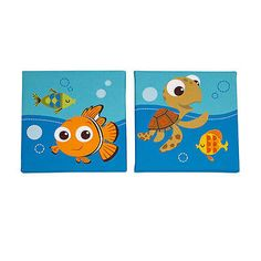 New Disney Baby - Finding Nemo 2 Piece Wall Art Model:18879388 for USD46.90 #Baby #Nursery #Décor #Finding  Like the New Disney Baby - Finding Nemo 2 Piece Wall Art Model:18879388? Get it at USD46.90!