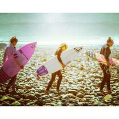 Vanina and friends surfing Lowers CA
