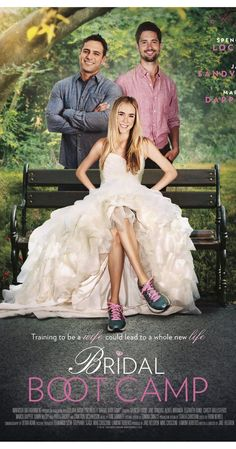 Its a Wonderful Movie - Your Guide to Family and Christmas Movies on TV: Bridal Boot Camp - an UP Premiere Movie Halmark Movies, Romance Movies, Family Movies, Comedy Movies, Movies To Watch, Movie Tv, Movies Online, Movies 2019, Películas Hallmark