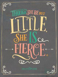 Nicole LaRue for Modify Ink // She Is Fierce - Shakespeare