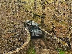 The best Land Rover to the best bridge.