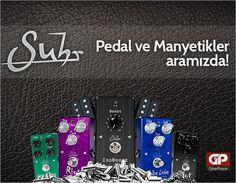 Suhr'un titizliği sadece gitarlarla sınırlı değil. Pedallar ve manyetikler de aynı düşünce yapısının ürünü. Daha fazlası ve ayrıntılar için;  http://www.gitarpazar.com/suhr