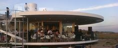 Vapor Restaurante & Beach Bar, Praia do Ancão, Algarve.  International cuisine, stunning views from rooftop terrace, chic beach club.