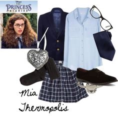 """Mia Thermopolis"" by bubblebre on Polyvore"
