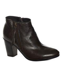 #Stivaletto corto #Khrio in pelle sfumata marrone scuro http://www.tentazioneshop.it/scarpe-khrio/stivaletto-24535-grigio-khrio.html