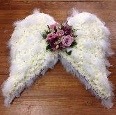 angel wings funeral arrangement   Angel Wings                                                                                                                                                                                 More