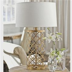 Quatrefoil Cage Table Lamp