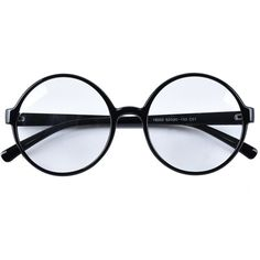 Agstum Retro Round Glasses Frame Clear Lens Fashion Circle Eyeglasses... (£10) ❤ liked on Polyvore featuring accessories, eyewear, eyeglasses, glasses, accessories - glasses, round eyeglasses, round glasses, circular glasses, circle eyeglasses and circular eyeglasses