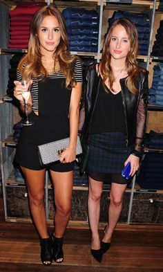 Rosie fortescue and Lucy watson
