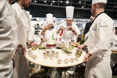 #bocusedor #bocusedoreurope2018 #contest #gastronomy #chefs #food #cooking #tasting #jury ©Studio Julien Bouvier Bocuse Dor, Chefs, Europe, Table Decorations, Studio, Cooking, Food, Home Decor, Fine Dining